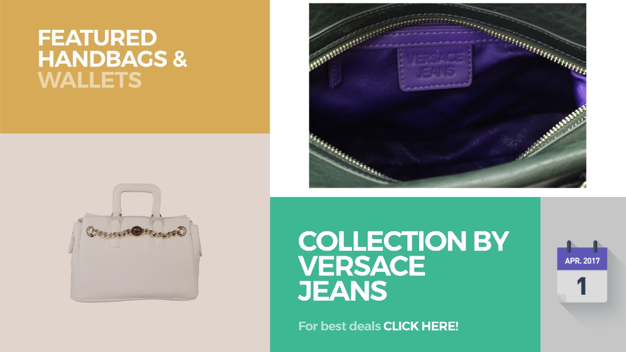 cf7daf5acd Collection By Versace Jeans Featured Handbags & Wallets - YouTube