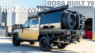 2020 Toyota Landcruiser 79 Series Full Build Rundown | Boss Aluminium  Boss Built