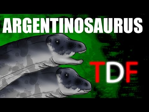 Argentinosaurus The Earth Shaker (TDF Facts)