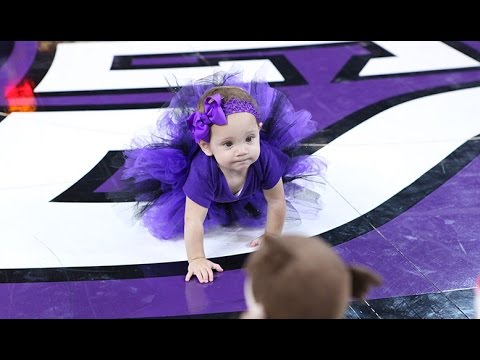 Thank you Sacramento Kings for having Baby Racing during a timeout break -10/10 would watch again