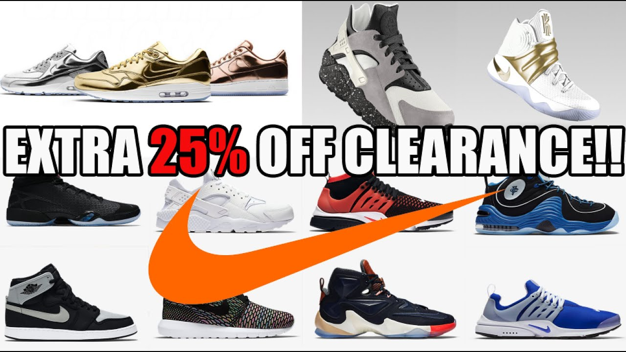 EXTRA 25% OFF NIKE CLEARANCE SALE!!! (MY TOP 20 DEALS!)