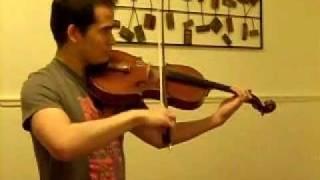 Gavotte from Mignon (Viola)