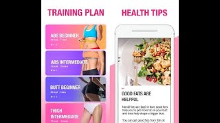 ✅ Female Fitness - WOMEN Workout #3 ✅ ( best android apps )