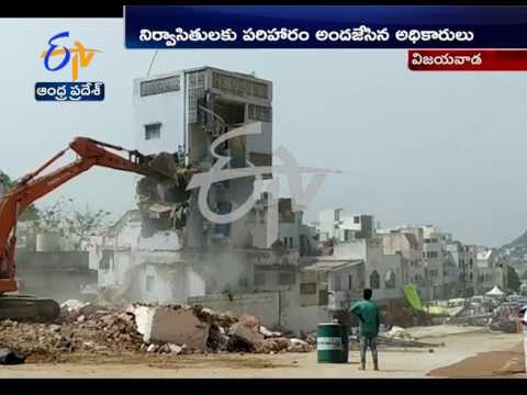 Durga Temple Officials Demolish Buildings in Vijayawada