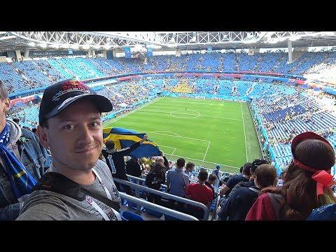 Идем на футбол в Питере зажигаем на Газпром арене фанаты в метро чемпионат мира по футболу СПб 2018