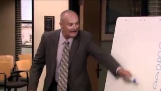 Creed Bratton, Scranton Branch Manager of Dunder Mifflin - Boboddy Acronym