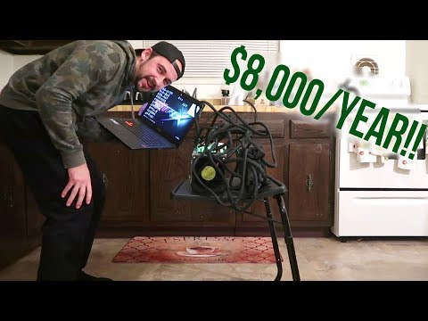 Antminer S9 Bitcoin Miner - $8,000 per Year!