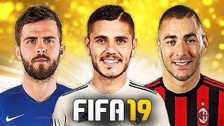 ICARDI & HAZARD PER IL DOPO RONALDO! TOP 10 TRASFERIMENTI ASSURDI IN FIFA 19 [Pjanic, Vidal, Morata]