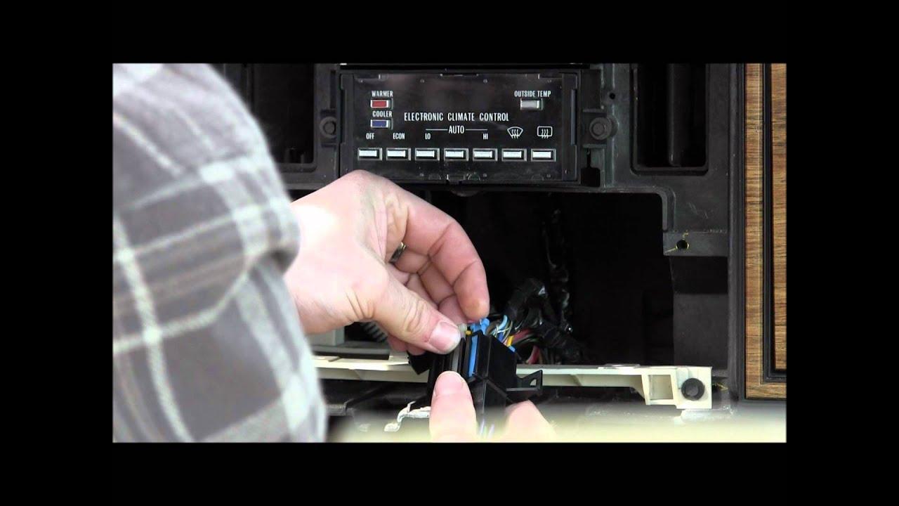Eldorado Stereo Install