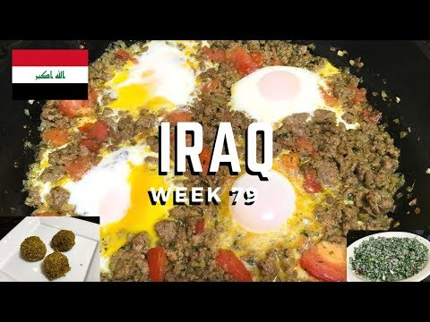 Second Spin, Country 79: Iraq [International Food]