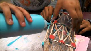 Balsa Wood Tower Design, Construction, Testing