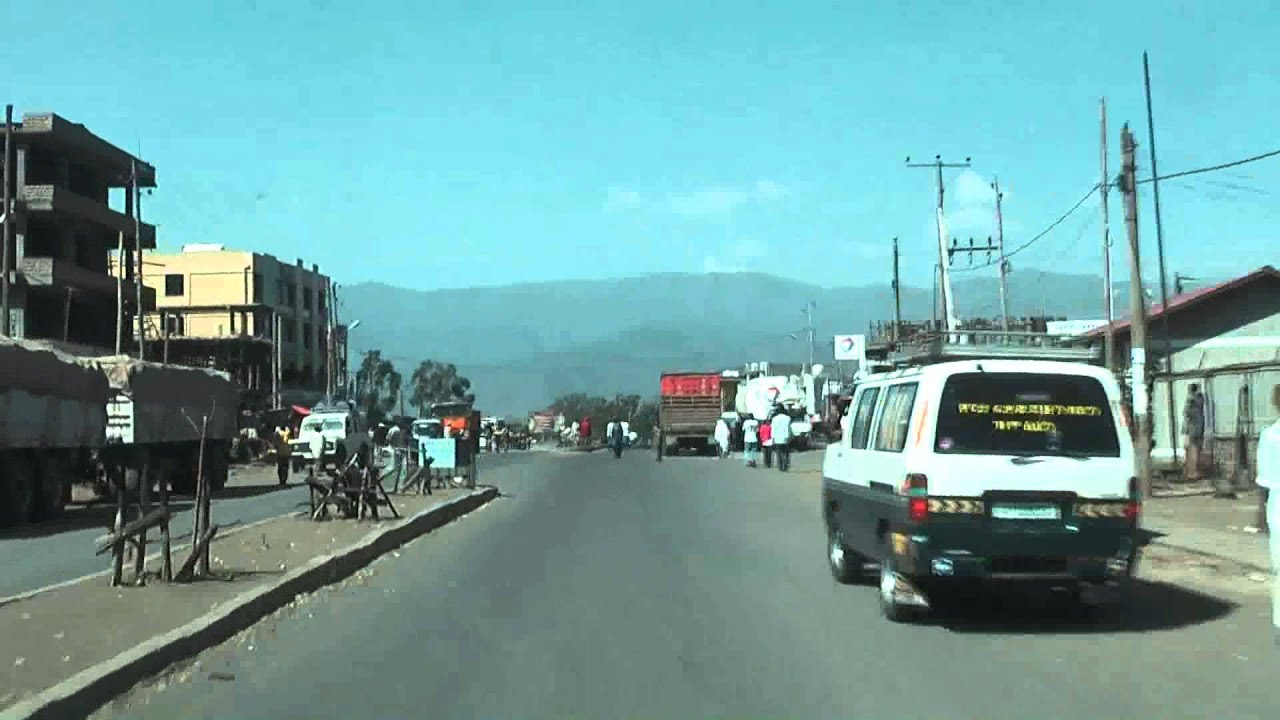 Ethiopia 97: Road in Korem