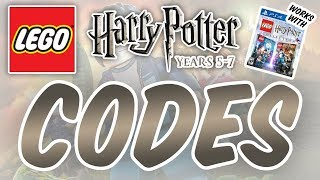 Lego Harry Potter: Years 5–7 Cheat Codes