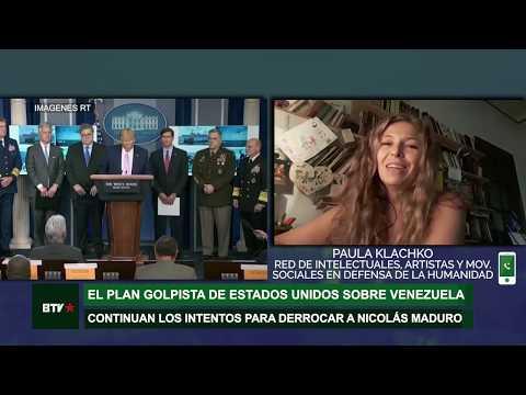 El Plan Golpista De Estados Unidos Sobre Venezuela