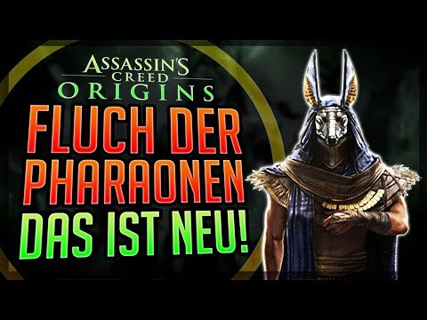 TOP 7 NEUES im DLC DER FLUCH DER PHARAONEN Assassin's Creed Origins The Curse Of The Pharaos thumbnail