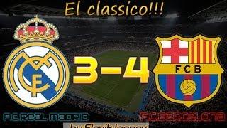 Обзор матча Реал-Барселона 24.03.2014 . Самый лучший матч этого сезона 2013-2014!!