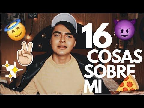 16 COSAS SOBRE MI ✨   YOSHIKI CUEVAS