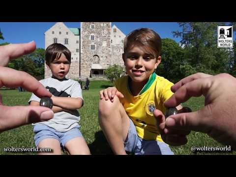 American Kids Trying Finnish Candy in Finland