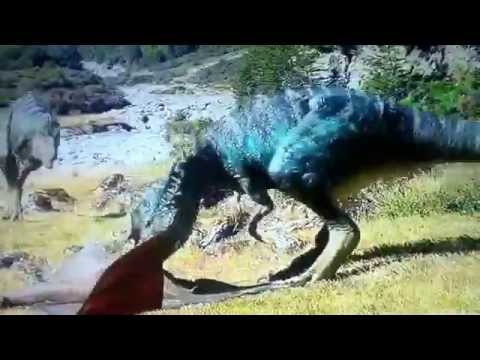 Walking with dinosaurs 3d(live like a warrior music video)