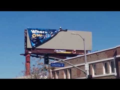 UCLAx Billboard in Hollywood on Sunset Blvd