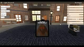 [Roblox] riabilitare Loup licantropi roblox - un giochi!