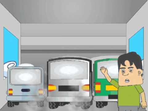 animation of shipping safety