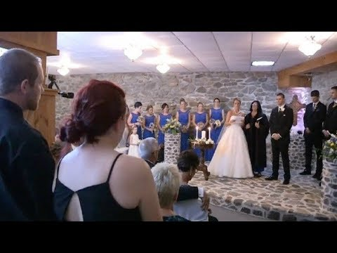When Bride Sees Her Husband's Ex At Her Wedding She Stops Everything And Asks Her To Stand