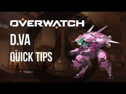 D.Va Quick Tips | How to Play D.Va in 2 Minutes | D.Va Tutorial Overwatch