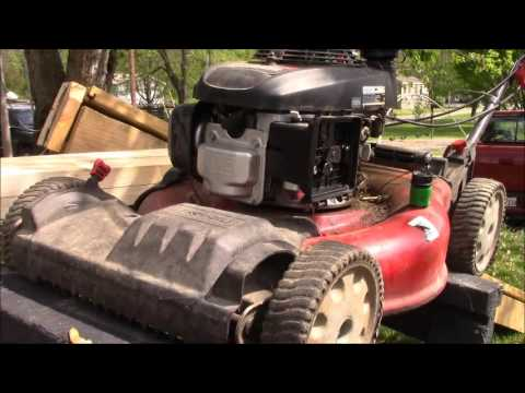 How To Fix A Troy Built Honda Lawn Mower Starts But Won T Stay Running