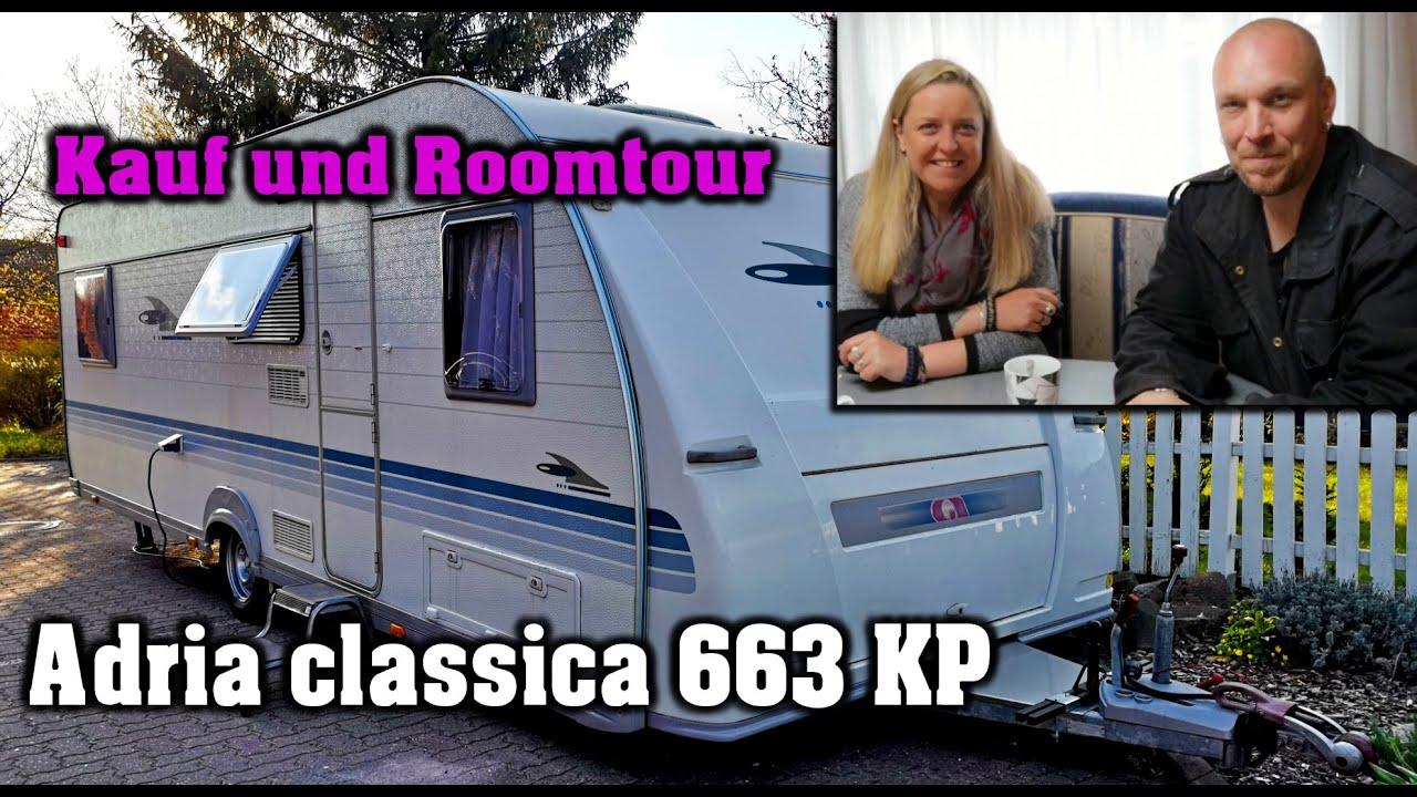 Smuk Seltener Adria classica 663 KP | Neuer Wohnwagen | ROOMTOUR - YouTube AO-57