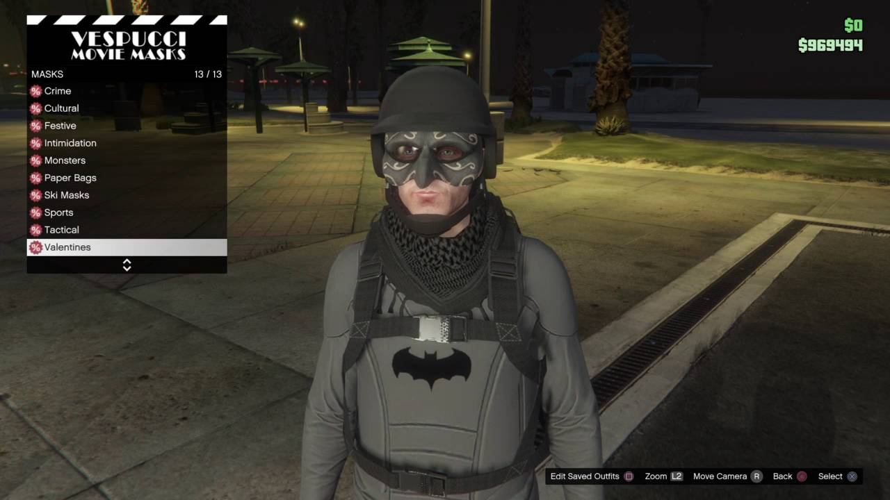 Don Franklin Auto >> Grand Theft Auto 5 Online Batman Outfit tutorial UPDATED - YouTube