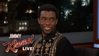 Chadwick Boseman on New Movie Marshall