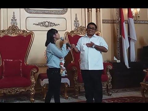 Selfi LIDA menyanyikan 2 lagu di Rujab Gubernur Sulsel