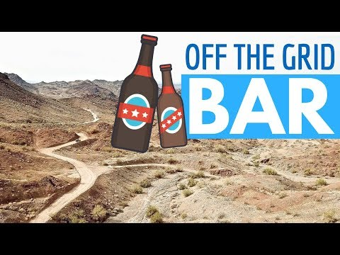 Off Grid Bar in the Desert - RV Living & Solar Powered Tiny House