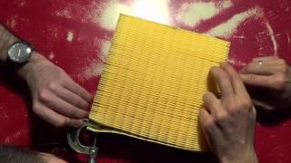 видео Воздушный фильтр ваз 2110 инжектор