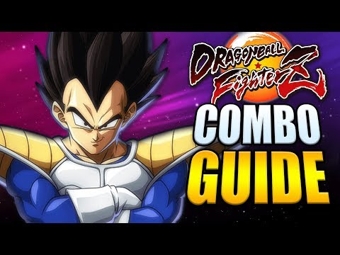 BASE VEGETA Best Combos - Easy to Advanced - Dragon Ball FighterZ