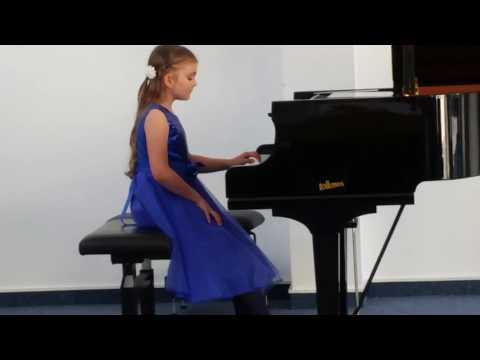 "A.Peskanov "" Prelude""- Hommage to Tchaikowsky - Maria Beifus (7y.o )"
