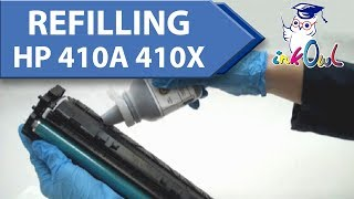 How to Refill HP 410A, 410X Cartridges for M452, M452dw, M477, M477dw Printers