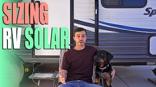 Sizing RV Solar - Solar Panels, Battery Bank, & Inverter - Full Time RV