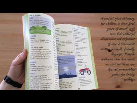 First illustrated English dictionary - Usborne