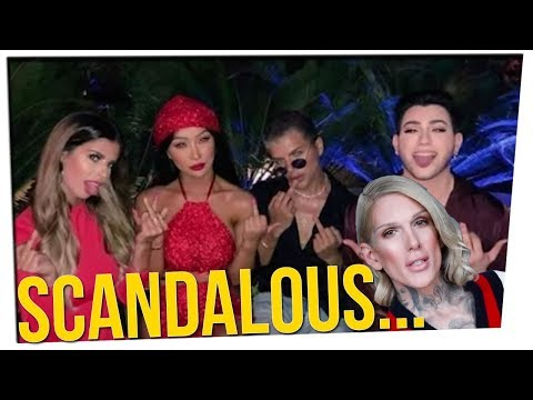 Scandal Tears Apart the Beauty Guru Scene ft. Jus Reign & DavidSoComedy