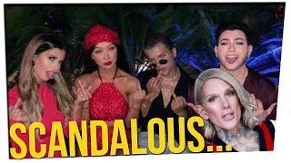 Scandal Tears Apart the Beauty Guru Scene ft. Jus Reign & DavidSoComedy