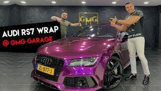 Yeni arabamı kaplattım - Audi RS7 @ GMG GARAGE