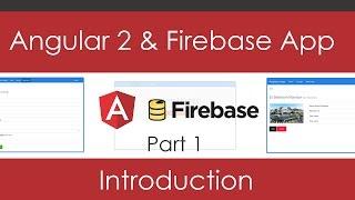Angular 2 & Firebase App Series