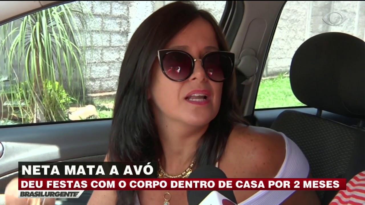 Avos Brasileiros Porn Videos neta mata a avó e dá festa com corpo dentro de casa