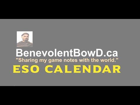 Calendar - CET - BenevolentBowd ca