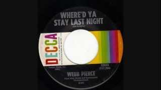 Webb Pierce  ~  Where
