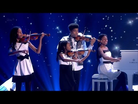 The Kanneh-Masons - Britain's Got Talent 2015 Semi-Final 4