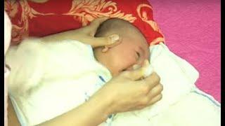 Bé Ngạt Mũi Khó Thở - Cách Rửa Mũi Cho Bé An Toàn Đêm Ngủ Ngon Giấc 💓 BunBun Kids TV