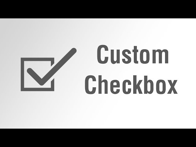 [ Arabic Tutorials ] Create Custom Checkbox With Font Awesome Icon